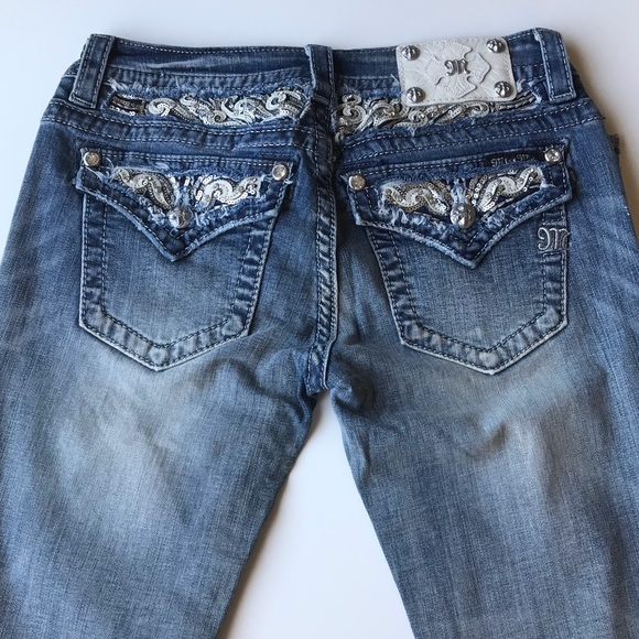 Miss Me Denim - Miss Me Signature Boot Cut Jeans